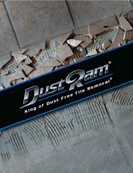 dustram tile removal tools